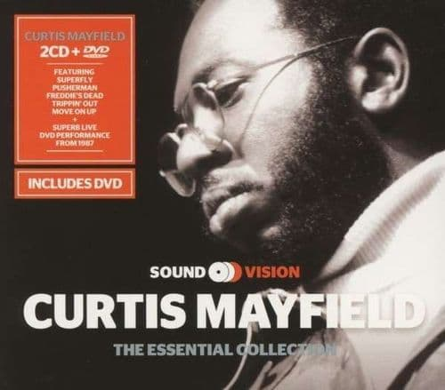 Curtis Mayfield<br>The Essential Collection<br>2CD, Comp + DVD